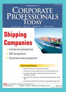 Corporate Professional Today - March 16, 2019