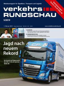 VerkehrsRundschau - 29. Januar 2019