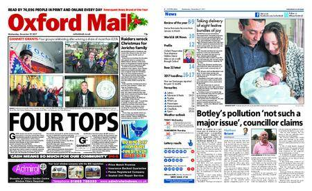 Oxford Mail – December 27, 2017