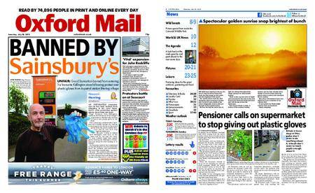 Oxford Mail – July 28, 2018