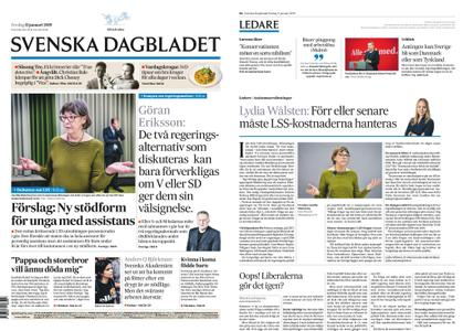 Svenska Dagbladet – 11 januari 2019