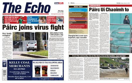 Evening Echo – March 23, 2020