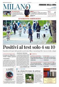 Corriere della Sera Milano – 06 maggio 2020