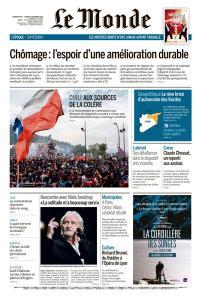 Le Monde du Dimanche 27 et Lundi 28 Octobre 2019