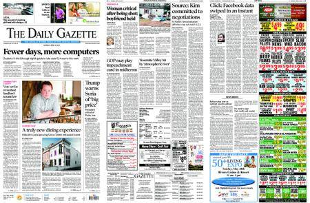 The Daily Gazette – April 09, 2018