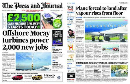 The Press and Journal Moray – August 26, 2017