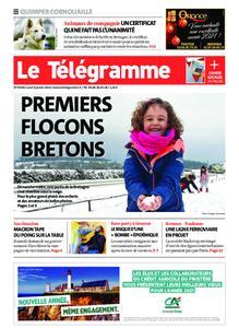 Le Télégramme Ouest Cornouaille – 04 janvier 2021