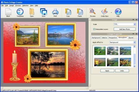 AMS Software Photo Collage Maker 2.35