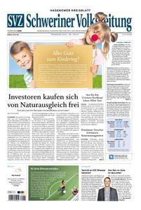 Schweriner Volkszeitung Hagenower Kreisblatt - 30. Mai 2020