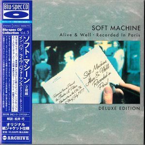 Soft Machine - Alive & Well, Recorded In Paris (1977) {2CD Air Mail Japan MiniLP Blu-spec CD AIRAC-1669~70 rel 2012}
