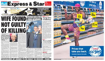 Express and Star Sandwell Edition – September 19, 2019