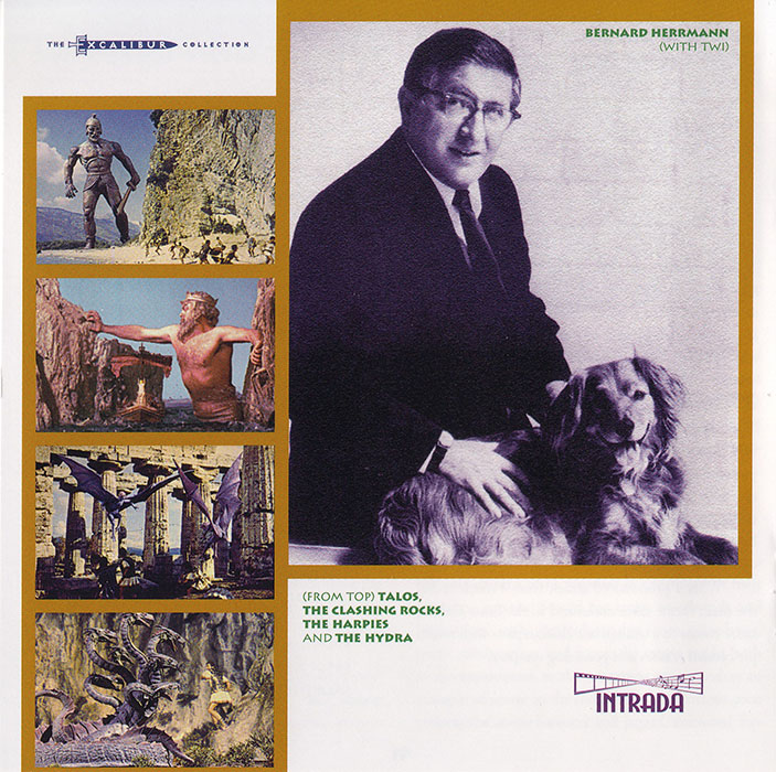 Bernard Herrmann - Jason and the Argonauts: Original Motion Picture Score (1963) Re-Recording 1999, Sinfonia Of London