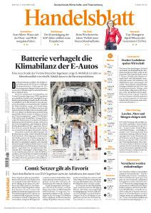 Handelsblatt - 2 November 2020