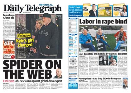 The Daily Telegraph (Sydney) – December 09, 2019