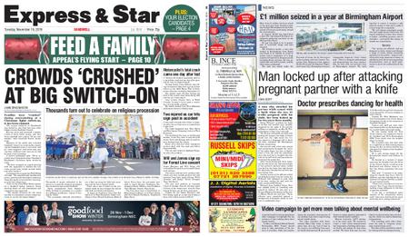 Express and Star Sandwell Edition – November 19, 2019