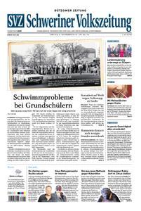 Schweriner Volkszeitung Bützower Zeitung - 09. November 2018