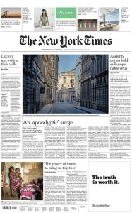 International New York Times - 28-29 March 2020