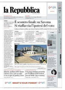 la Repubblica - 27 Maggio 2018