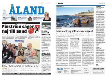 Ålandstidningen – 22 augusti 2018