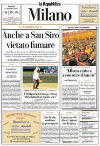 la Repubblica Milano - 21 Gennaio 2020