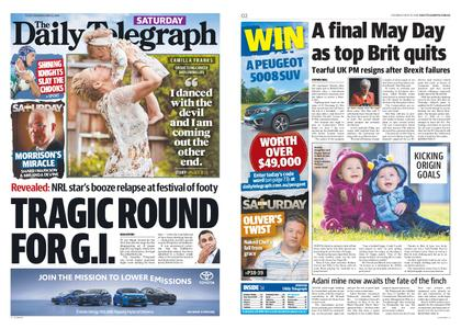 The Daily Telegraph (Sydney) – May 25, 2019