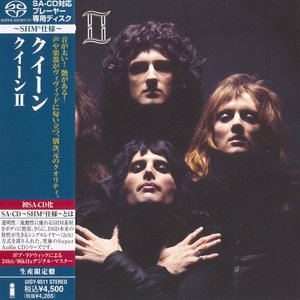 Queen - Queen II (1974) [Japanese Limited SHM-SACD 2011] PS3 ISO + Hi-Res FLAC