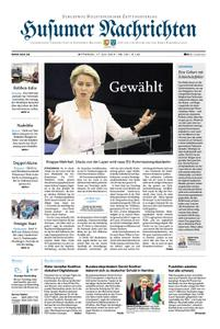 Husumer Nachrichten - 17. Juli 2019