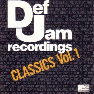 VA - Def Jam Classics Vol. 1 (1989) {Def Jam/Columbia} **[RE-UP]**