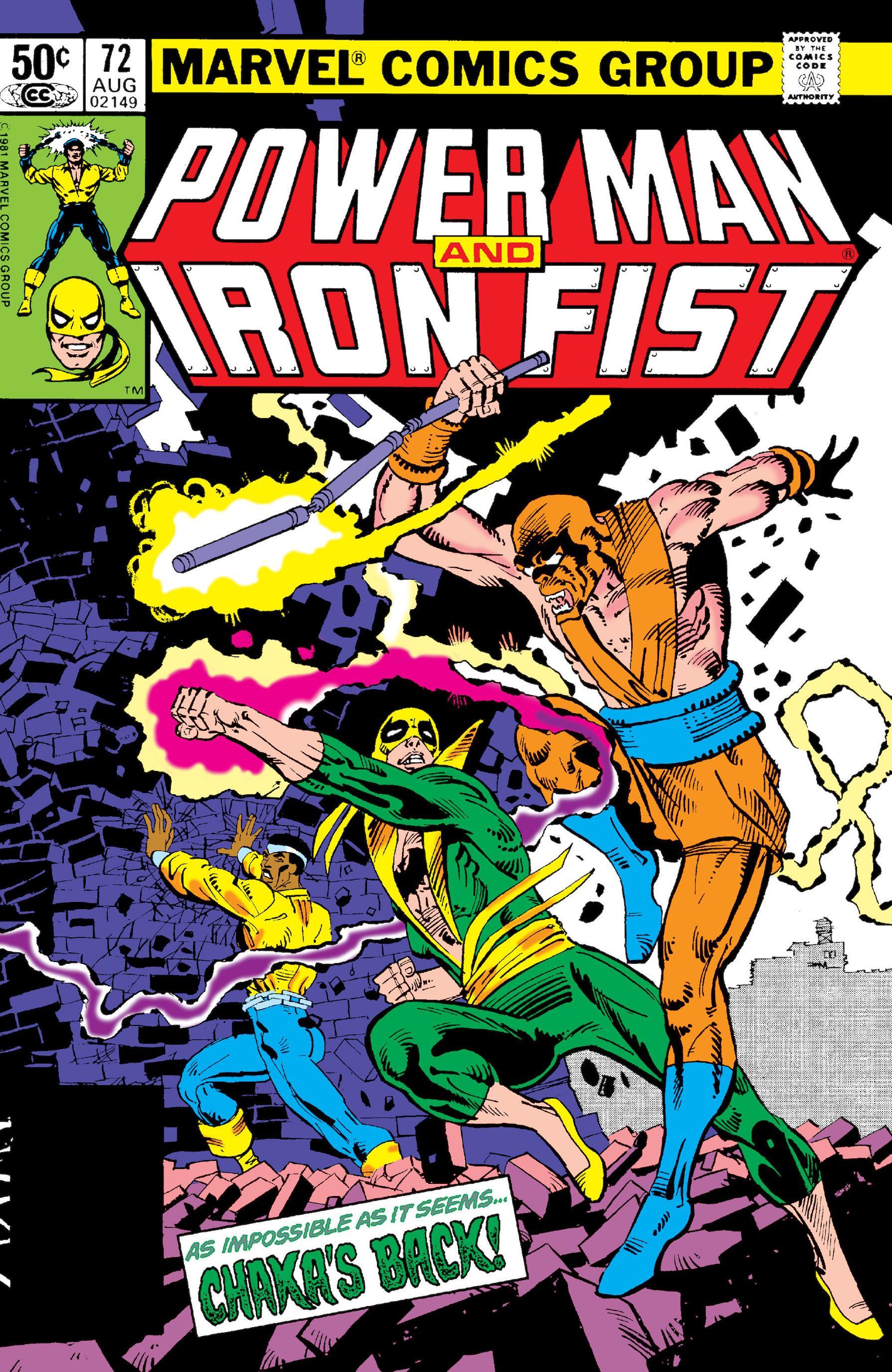 power man and iron fist comic - HD1058×1600