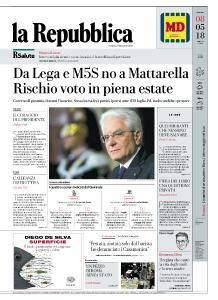 la Repubblica - 8 Maggio 2018