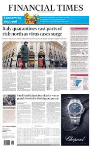 Financial Times USA - March 9, 2020