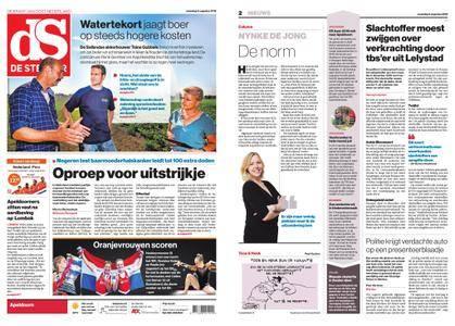 De Stentor - Apeldoorn – 06 augustus 2018