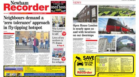 Newham Recorder – September 02, 2020