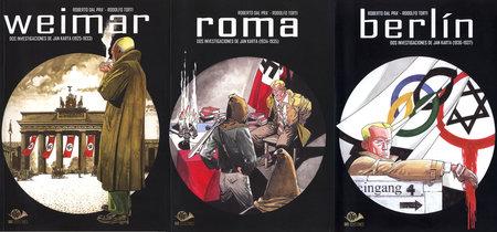 Dos investigaciones de Jan Karta: Weimar, Roma y Berlin