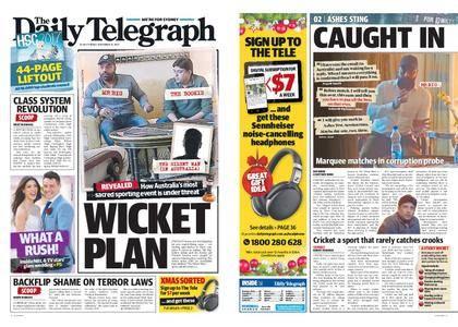 The Daily Telegraph (Sydney) – December 15, 2017