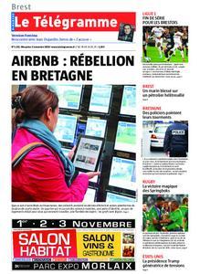 Le Télégramme Brest Abers Iroise – 03 novembre 2019