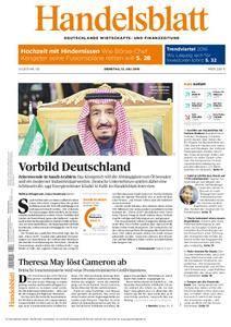 Handelsblatt - 12. Juli 2016