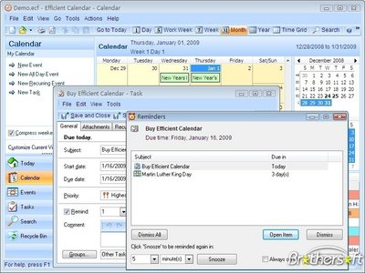 Efficient Calendar Pro 1.67.98