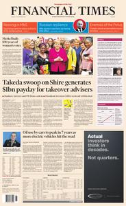 Financial Times Europe – 13 November 2018