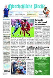 Oberhessische Presse Marburg/Ostkreis - 02. Oktober 2017