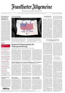 Frankfurter Allgemeine Zeitung F.A.Z. - 25. August 2018