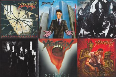 Xentrix: Discography (1989 - 2019)