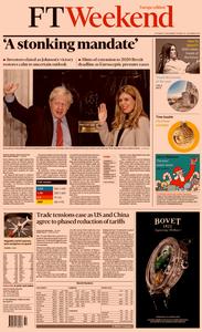 Financial Times Europe – 14 December 2019