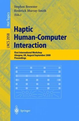 Haptic Human-Computer Interaction