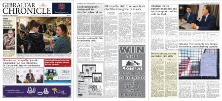 Gibraltar Chronicle – 18 February 2020