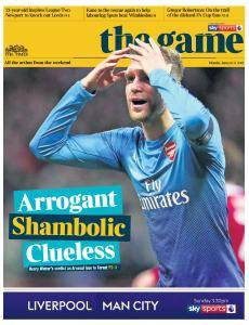 The Times - The Game - 8 January 2018