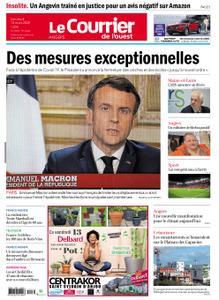 Le Courrier de l'Ouest Angers – 13 mars 2020