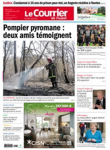 Le Courrier de l'Ouest Nord Anjou – 22 septembre 2021