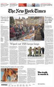 International New York Times - 23 January 2019
