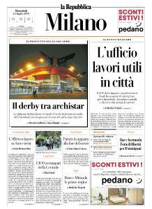 la Repubblica Milano - 24 Luglio 2019